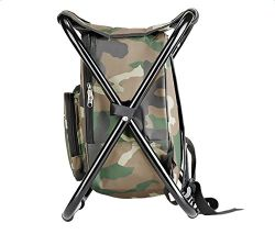 Folding Camping Picnic Travel Camping Fishing Chair Tackle Bag Backpack