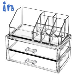High Quality Clear Makeup Storage Box Multifunction Acrylic Cosmetic  Organizer