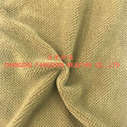 100% Polyester Jacquard Flannel Fabric for High-End Outdoor Clothing or Sportswear