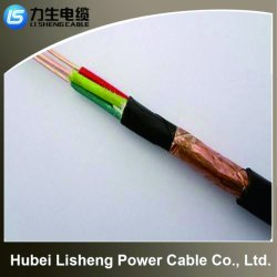 2018 Hot Sales 450/750V PVC Insulated Copper Wire Braided Shielded Electrical Cable (VV 3*120)