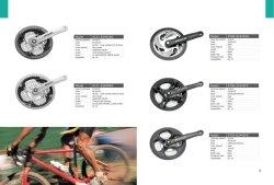 Alloy Chainwheel and Crank of Mountain Bike