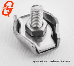 Stainless Steel Duplex Wire Rope Clip Cable Clamp Double Bolt