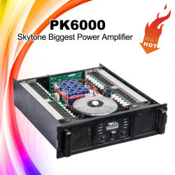 Pk6000 Solid Audio Amplifier Professional Power AMP