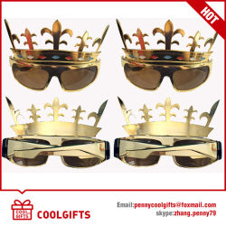 7daf8b0f1be 2016 New Sunglasses with Golden Crown Shape for Party Gift