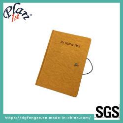 Unionpromo Custom A5 PU Leather Bussiness Office Writing Notebook with Custom Logo