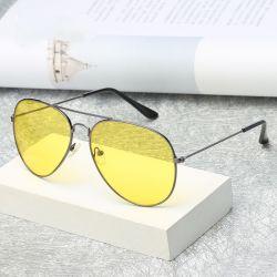 364ba1a310b6 Men Women Sun Glasses Driver Night Driving Eyewear Night Vision Fashion  Sunglasses