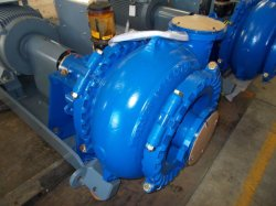 Large Capacity Motor Diesel Engine Driven Sand Gravel Anti-Friction Slurry Pump