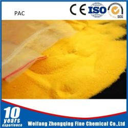Drinking Water Grade Yellow Powder PAC From Factory