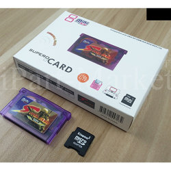 Supercard Mini Game SD Flash Card Adapter Cartridge for Gba/Sp/Gbm/IDS