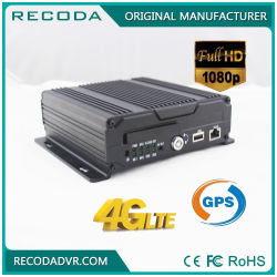 FHD 1080P Car Mobile DVR Support Ahd Tvi Cvi with 4G and GPS