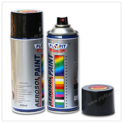 High Heat Resistant Spray Paint Silver Color Endure 400 Centigrade