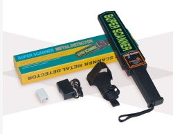 Security Safety Checking Use Hand Held Metal Detector