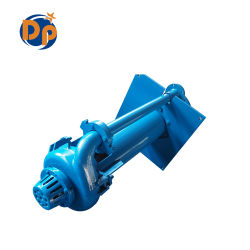 Heavy Duty Centrifugal Submerged Vertical Slurry Pump with Motor, Mining Sand Pump