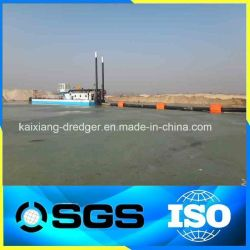 Cutter Suction Sand Dredging Machine in River