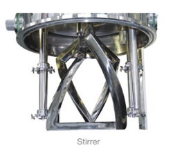 Lithium Ion Battery Slurry Mixing Machine Double Planetary Disperser Mixer
