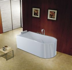 Body Joint Seamless Thermal Preservation Freestanding Bathtub