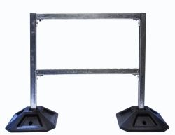 Durafoot 500 (50X50) Square Heavy 25kg Rubber Support Foot Rooftop Block Base