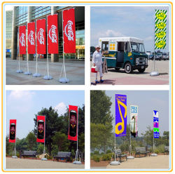 Promotional Wholesale Hot Selling Advertising Beach Flagpole (4m)