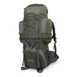 60L Waterproof Nylon Backpack Bag for Outdoor Hiking Travel Sports