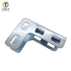 OEM Sheet Metal Fabrication, Custom Steel /Aluminum / Iron Stamping Parts with Zinc Plated