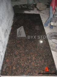 Tan Brown Granite Countertop for Kitchen and Bathroom