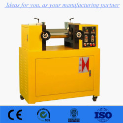 New Electronic Heating Lab PVC Two Roll Mill for Plastic