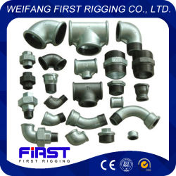 DIN/JIS/GB Standard Galvanized Malleable Iron Pipe Fitting-2, Long Sweep Bends