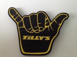 High Quality EVA Foam Hand for Event and Party (KKSHFH01)