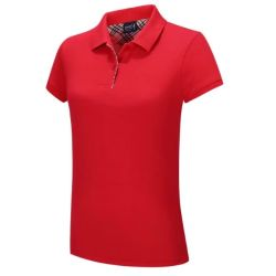 Wholesale Women's Short Sleeves Cotton Polo Shirts