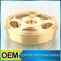 Brass Shaft Circle Metal Processing Machinery Parts