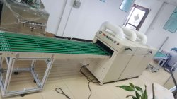 Blister Tray Dust Cleaning Machine, Plastic Tray Dust Remover