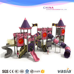 Large Castle Playground Play Equipment Outdoor