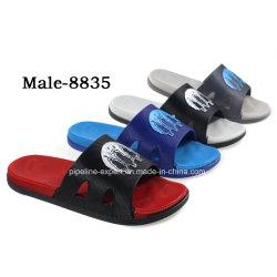 b29fc516073e0e Custom Logo PVC Slide Slipper Wholesale Men Slide Sandals