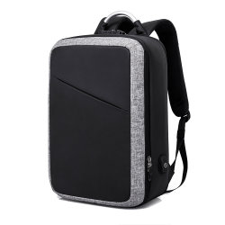 40a898363a48 Junyuan New Design Anti-Theft Laptop Backpack with USB Charger Port