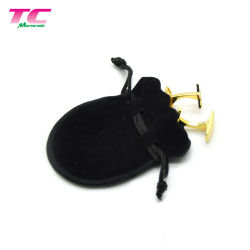 Black Pink Cremy-White Jewelry Pouch Jewelry Packaging Pounch for Travel