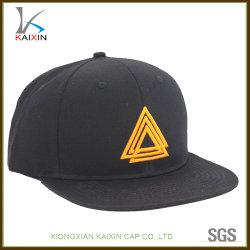 4b5b37ef23f Custom Black Acrylic 3D Embroidered Logo Snapback Hats and Caps