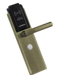 High Security Hotel Door Lock Smart Door Lock with RFID Card Unlocked