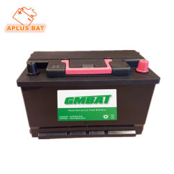 Wholesale Wet Charged Maintenance Free Car Batteries 12V80ah DIN80 58043mf