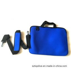 Neoprene Laptop Notebook Sleeve Case Bag with Handle and Shoulder Strap Fit for 8' Laptop