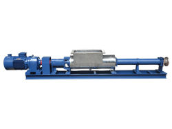 G Type Helical Rotor Sewage Treatment Plant Sludge Slurry Transfer Waste Water Circulation Pumps Single Screw Pump