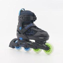 Semi-Soft PU Fruit Wheels Adjustable Inline Skate En13843: 2009