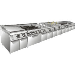 Commercial Hotel Restaurant Catering Buffet Hospital Industrial Kitchen  Equipment