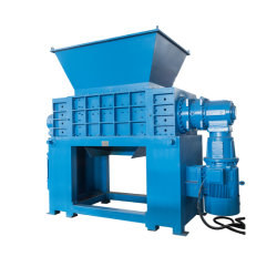 Wholesale Price Industrial Small Automatic Solid Waste Plastic Bottle Pop Can Shredder/Msw Scrap Metal Tyre Shredding Machine