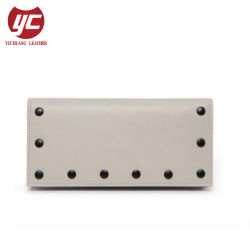Yc-W101 Newest Trendy Folded Design Wholesale Wallet with Rivets