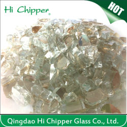 Gold Reflective Tempered Glass Chips for Fireplace