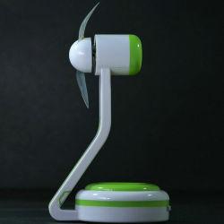 2017 Wholesale Bluetooth APP Control USB Programming Mini Desk LED Fans