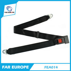 FEA014 Wholesale Customizable Competitive Price OE Quality Two Points Safety Seat Belt Supplier
