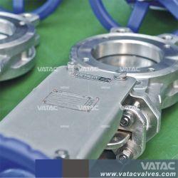 A351 CF8m Slurry Semi-Lug/Wafer Knife Gate Valve