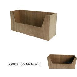 Eco-Friendly En71 ASTM Standard Wooden Glass Cup Basket