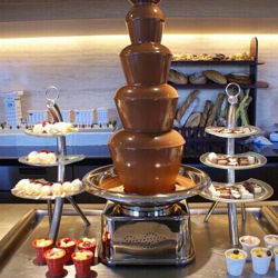 Electronic Mini Household Professional Easy Operation 7 Tiers Chocolate Fountain